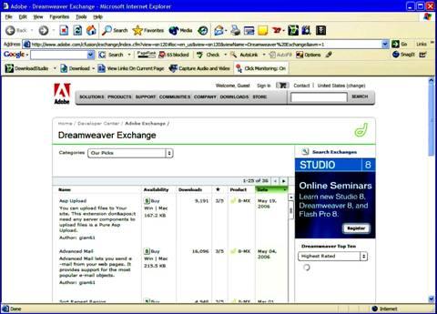 image015 Dreamweaver 8: Hướng dẫn cài đặt
