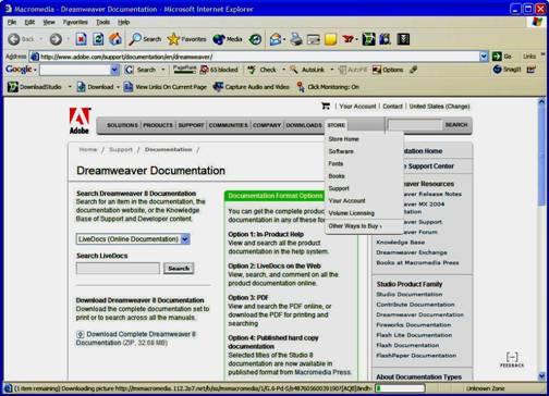 image019 Dreamweaver 8: Hướng dẫn cài đặt