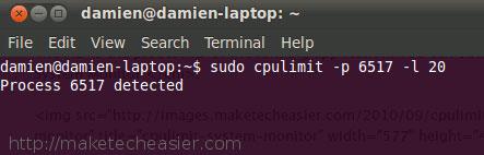 cpulimit3 Hạn chế việc sử dụng CPU đối với các Process trong Linux